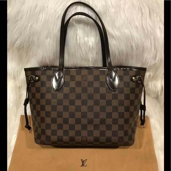 7239730042 Louis Vuitton Handbags - Authentic Louis Vuitton Damier Ebene Neverfull PM